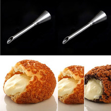 Practical stainless steel russian piping nozzles tips long icing piping nozzles puff a cream puff tips cake decoration tools