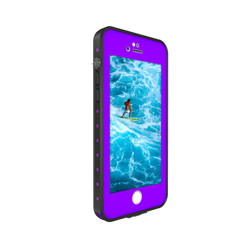 16.For iphone 7 8 plus waterproof case