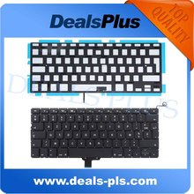 "New Tested A1278 FR French Keyboard With Backlit Backlight For Macbook pro 13"" 1278 FR French Keyboard 2009 - 2014 Year"
