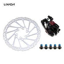 Lixada Bicycle Brake Set Aluminum Alloy Bike Rotor With Clipers 1 Front Disc Brake+1 Braking Disc+6 Screws Bike Accessories(China)