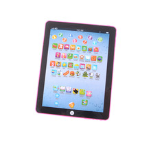 Child Kids Computer Tablet Chinese English Learning Study Machine Gift for Children Toy Baby Educational Toys(China)