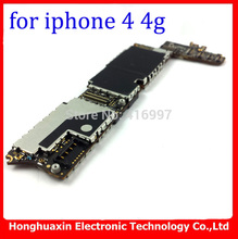 8GB motherboard for iphone 4 4G 100% original mainboard unlocked IOS system logic board good working main plate