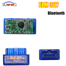 2017Newest Affordable Mini ELM327 ODB2 elm 327 v 1.5 bluetooth Adapter Auto Diagnosis Top sales Scanner for Android Torque