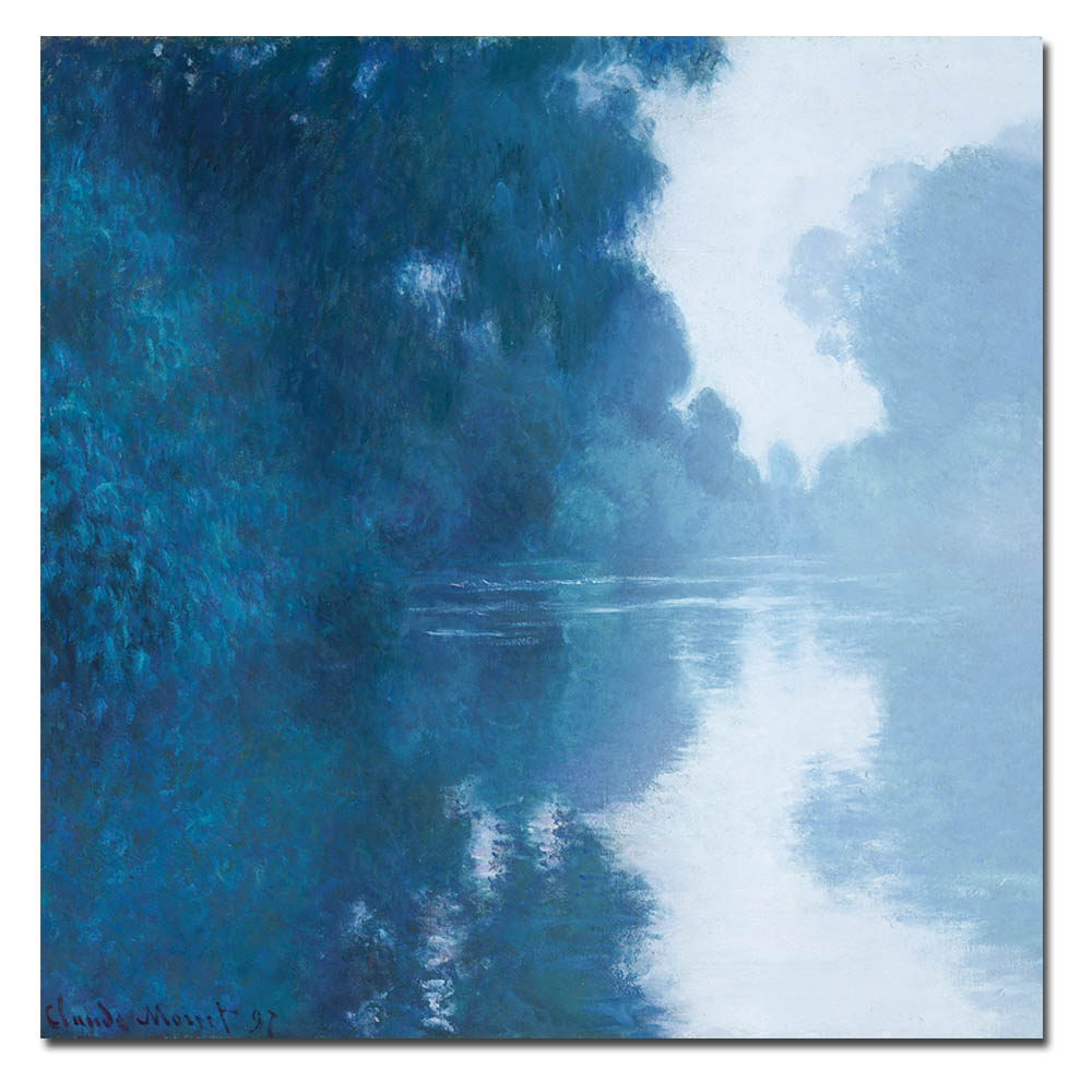 Monet - the banks of the Seine-1