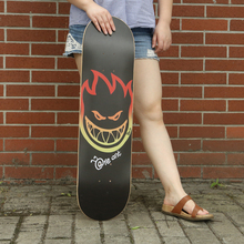 Small Fire Men 80*20cm Skateboard Sandpaper Professional Longboard Griptape Anti-skid Skate Board Deck Griptape