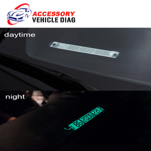 New Arrival Car Temporary Parking Card For Daytime and Night Usage Card Notification Car Styling with Phone Number Free Shipping