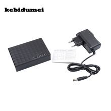 kebidumei Universal High Performance Desktop Plastic Mini Smart Adapter 5 Ports 10/100Mbps Base Ethernet Network Switch Hub(China)