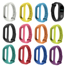 Buy NEW Colorful Sports Original Rubber Wrist Strap WristBand Bracelet Replacement XIAOMI MI Band 2 for $1.31 in AliExpress store