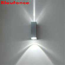 Wall Light LED Aluminum Wall Lamp COB Led Bulbs Up and Down Lighting Porch Garden Lights double Porch light NB301
