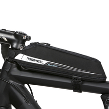Roswheel Portable Cycling Front Pouch Bike Bicycle Cycling Top Tube Bag Front Fream Bag Bike Bicycle Storage Bag for MTB Riding(China)