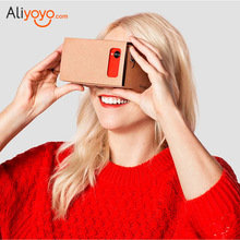 DIY Google Cardboard VR Virtual Reality Box 3D Glasses Viewing Glasses For Samsung Mobile Phone Support Maximum 6.0 inch Screen