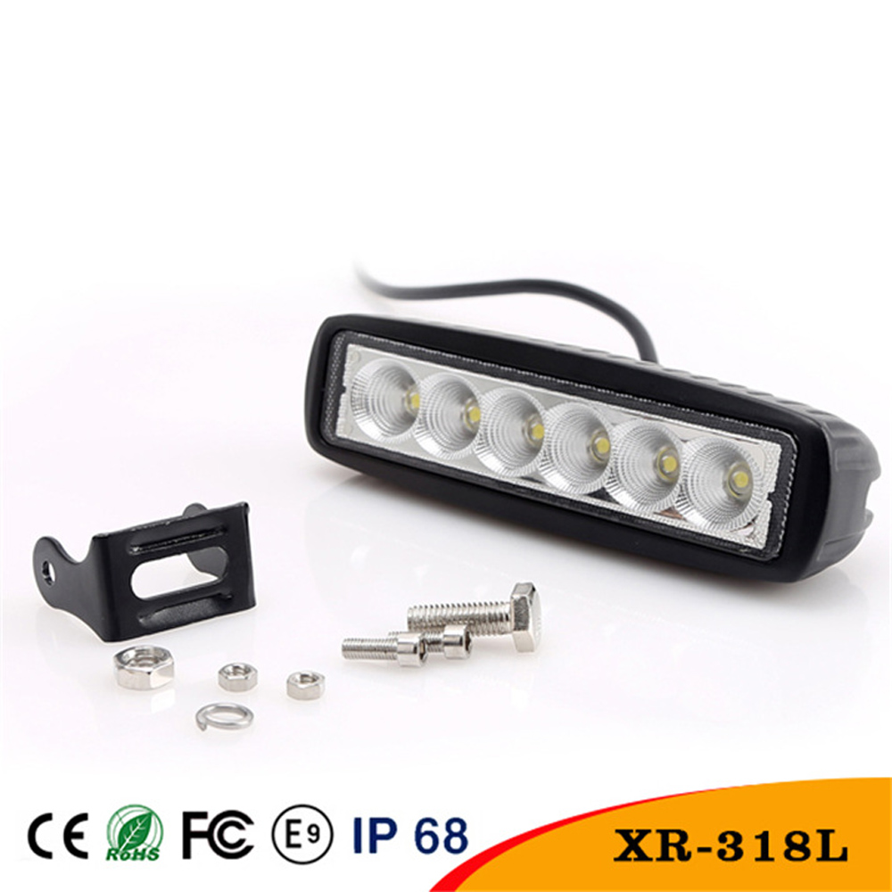 LED Working Light 18W Car Decorative Light Color Temperature 6000K Waterproof Rate IP 67 For BMW Ford Audi Vw<br><br>Aliexpress