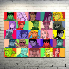 Naruto Shippuden Poster Anime Main Characters Art Silk Wall Posters 13x18 24x32inch (NEW)