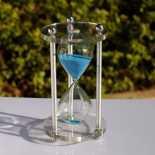 Popular Sandglass 60 Minutes Creative Gift Hourglass Modern Home Decorations Ornaments Sand Hourglass Clock Timer reloj de arena