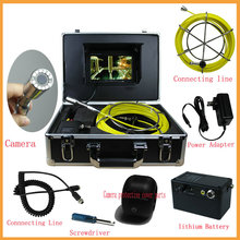 20m Cable industry Endoscope Camera 7 inch TFT LCD Screen Sewer Pipe Inspection Camera System(China)