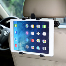 "Universal Adjustable Car Mount Headrest For IPad 2 3 4 5 Mini 7""-11"" Tablet PC Multi Holder Bracket Clip Car Seat Holder Stand(China)"