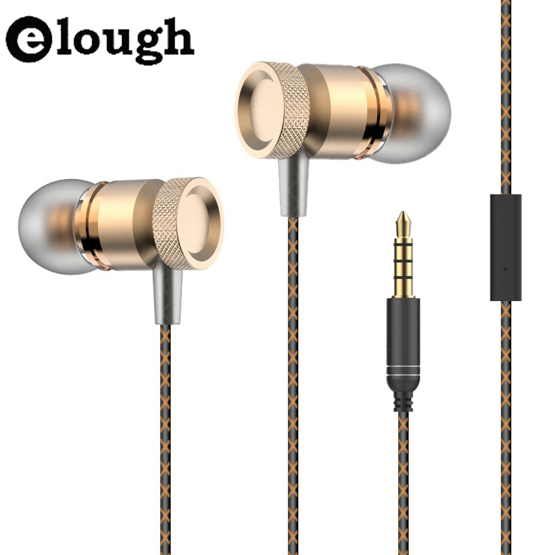 Elough Professional In-Ear Earphone For Phone 3D Heavy Bass Sound Earphones For iPhone Samsung Sony Mobile Phones Earpiece<br><br>Aliexpress