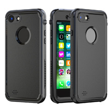 XYZ-link 100% Completely Sealed Phone Case for iphone 7 Case Waterproof PC Shockproof Cases For Iphone 7 Premium Case 5 colors