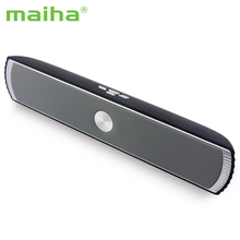 Maiha D007 Portable Wireless Bluetooth Stereo Speaker TF AUX USB FM Radio Built-in Mic Hands-free Good Bass HIFI Sound Speakers