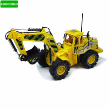 1:10 RC 6CH RC Construction Truck RC Excavator Dig Function Truck Model Electronic Toys Engineering Car(China)