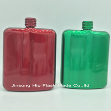 Color hip flask of 6 Ounce classics Stainless Steel liquor flask(China)
