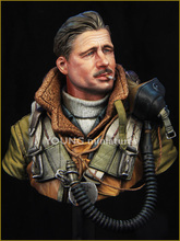GK 1/10 Bust YM185 RAF Bomber Command WWII Garage Resin Figure