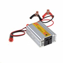 High Quality 300W Outlets Car Power Inverters DC 12V to AC 220V Cigarette Lighter 5V USB Charger Port Car Inversor(China)