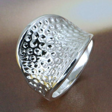 Wholesale! Free shipping! high quality 925 Sterling silver fashion jewelry, Thumb Ring R065