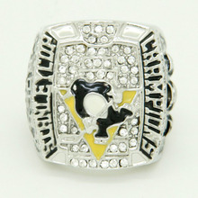 Collection Edition Christmas Gift Sports Jewelry 2009 Pittsburgh Penguins Stanley Cup Championship Ring Custom(China)