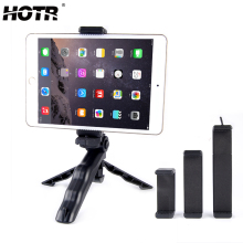HOTR Tablet Mobile Phone Tripod Holder Clip Mount Phone Holder Tripod Rotatable Stand Support Display Action Camera Bracket(China)