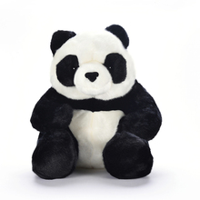 Plush Sitting Panda Seated Toys Soft Cute China National Animal Small Chinese Stuffed Dolls Best Gifts for Kids Friend Baby 10""