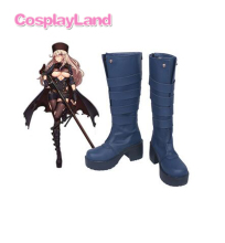 Girls Frontline PTRD Cosplay Boots Shoes Anime Party Cosplay Boots Custom Made Women High Heel Shoes(China)