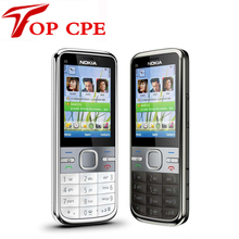 Refurbished Original C5 Unlocked Nokia C5-00 C5-00i Mobile Phone Camera 3.15MP GPS Bluetooth Mobile Phone Free Shipping(China)