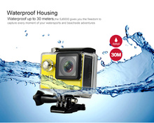 Free Shipping Winait W9 2.0LTPS Screen Action Camera 1080p Full HD Travel Camera Water Resistant 30meters 4k Camera With WiFi