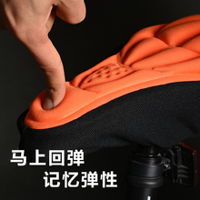 3D Silicone Lycra Nylon & Gel Bike Bicycle Cycling cycle Ultralight Seat Saddle Cover Ventilate Soft Cushion Comfortable Pad