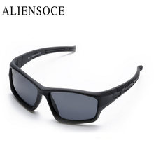 ALIENSOCE Infant Baby Kids Polarized Sunglasses Children Safety Coating Glasses Sun UV400 Fashion Goggles Shades oculos(China)