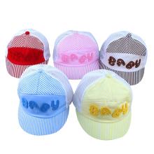 Soft Ajustable Caps Baby Kids Cap Letters Pattern Boys Girls Caps Infant Casual Sun Hat