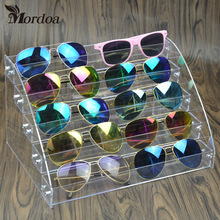 Clear Acrylic Makeup Organizer Storage Box 5 Layers Nail Polish Display Rack Lipstick Glasses display rack Jewelry Stand Holder
