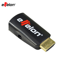 Effelon HDMI Male to VGA RGB Female HDMI to VGA Video Converter adapter HDMI Cable 1080P HDTV Monitor for PC