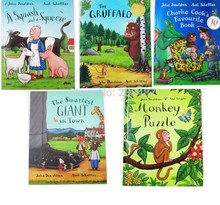 not cloth book original English children's picture story 5pcs/set(China)
