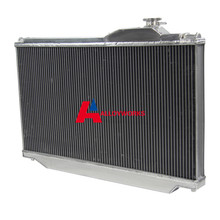HIGH-PER 3 ROW ALUMINUM RADIATOR FOR TOYOTA SUPRA JZA80 2JZ-GTE TURBO 93-98 Auto & Manual Automobile Engines Cooling System