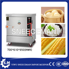 2017 hot selling factory price electric rice steamer rice cooker steam for hotel steam rice machine with 6plates(China)
