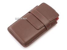 D5 EASECASE Custom-Made Real Leather Belt Case Holder Pouch For Sony Walkman NW-ZX1 NWZ-ZX1 ZX1
