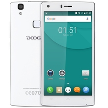 Doogee X5 Max MTK6580 Android 6.0 Quad Core Fingerprint Smart Phone 5.0inch HD 1280*720 1GB RAM 8GB ROM  8MP Camera Mobile Phone
