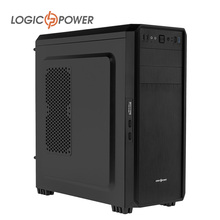 LOGIC POWER ATX desktop computer case New Arrivals Metal thickness 0.7mm Material - SPCC QTY of PCI slots 7 #4586