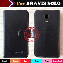 Hot!! BRAVIS SOLO Case Factory Price 6 Colors Dedicated Leather Exclusive For BRAVIS SOLO Phone Cover+Tracking(China)