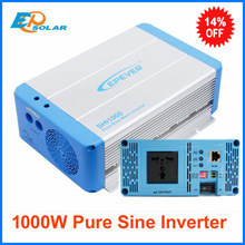 1kw 1000w EPSolar inverters pure sine wave 24v 48v to 220v 230v output solar off grid inverter