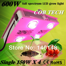 600W Super Power COB led grow light full spectrum 380nm-840nm,Bridgelux chip ,2 years warranty,free shipping