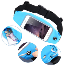 KISSCASE Waterproof Sport Gym Waist Bag Pouch For iPhone 7 6 6S Plus 5S 5 Outdoor Phone Case For Galaxy S7 S6 Edge Plus Note 5