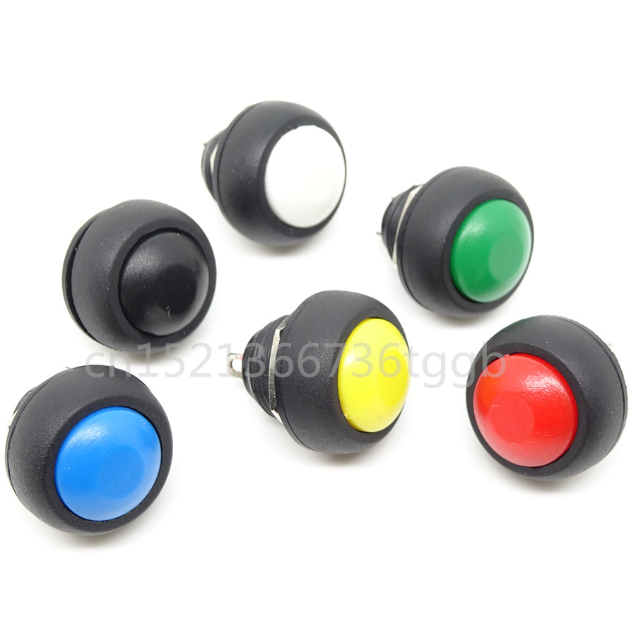 Communication Equipments 5pcs Small Reset Button Switch Button Key Without Lock